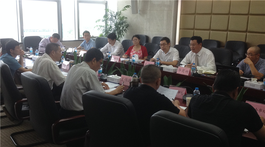 蔡春雷律师参加坪山新区合作法律顾问座谈会